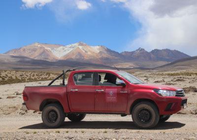 4x4 dans l'Altiplano